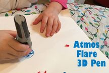 AtmosFlare / Create 3D art with our affordable and fun 3D pen! Try AtmosFlare today!