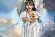 Картинки. Ангелы, феи, эльфы