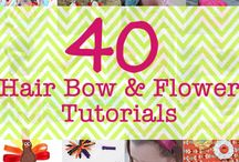 DIY Hairbows and Flowers / by Jenn Brown