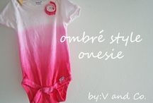 Onesie Ideas / by Diana M