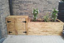 diy wood craft / make your own design garden