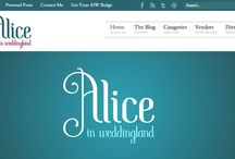 Alice In Weddingland / by Alice In Weddingland