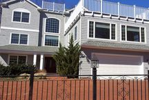 Residential Exterior Painting by ASG Painting Serving New Haven and Fairfield CT Counties / It is said that you have 7 seconds to make a first impression.  That doesn't give visitors to your home enough time to get to your front door! Powerwashing and Exterior Painting will spruce up your curb appeal.. and just in time for the Holidays!