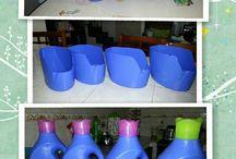 πλαστικά δοχεία για διάφορες θήκες ή κατασκευές