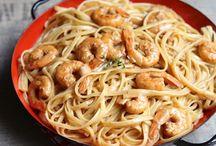 Pâtes - Recettes / Vous aimez les pâtes ? Moi je les adore ! Découvrez toutes mes recettes fétiches comprenant des tagliatelles, des spaghettis, des macaronis, des nouilles, des coquillettes etc.