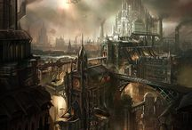 Steampunk - Environments