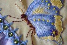 Бабочка стрекоза