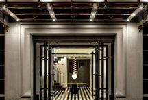 hotel entrance & hallway