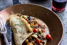 Recipes To Try - Meatless Mondays / V egetarian meals