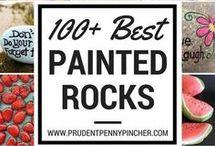 Pebble Painting Rocks