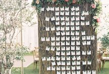 Everyone has a Spot! / Seating Charts, Place Cards, Escort Cards! How do you make this easy and unique?