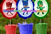 Geburtstagsparty PJ Masks / Ideen zur Geburtstagsparty zum Thema PJ Masks