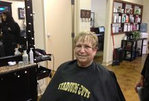 Styling at Stadium Cuts / Pictures of actual Stadium Cuts Clients with their new do's