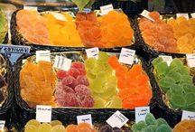 Frutas confitadas caseras