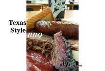 BBQ Regions / The major BBQ regions.