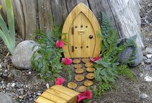 Fairy garden / Going to add this to my garden for the Grandchildren.  I can tell them stories about the fairies.