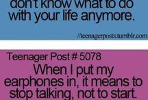 teenage life