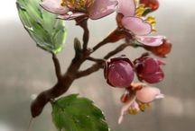 glasbloemen
