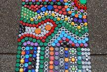 mozaik bahçe için