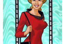 TOS Cast   ...Yeoman Rand / by Enterprise Restoration