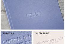 Album covers - Luxury Range I / Kathryn Edwards Photography - range of album cover options for Luxury Range I