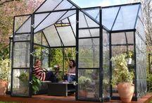 Serres en polycarbonate / Toutes nos serres de jardin en polycarbonate #serre #alu #aluminium #polycarbonate #jardinage #jardin #jardiner #garden #glasseshouse