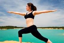 yoga, fitness and exercise