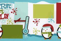 Scrapbooking Winter/Christmas