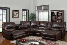 In Leather / Leather. Sofas. Couches. Love Seat.