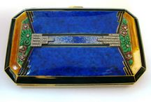 Cases & Compacts / Cigarette cases, compacts, and boxes / by Fiona Hanlon