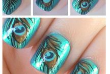 Peacock & Owl Nails!