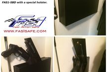 FAS1-SSS (Serbu Super Shorty) / FAS1-SSS is now available! Designed for the Serbu Super Shorty 12 gauge shotgun. This safe uses a longer version of the TL Holster that is open on the end for the muzzle to pass through instead of the FAS1-SBD Holster.