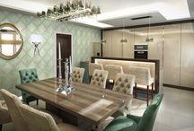 Étkező inspirációk / Dining room inspirations