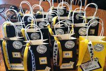 vollyballl treat bags