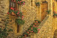Calles y fachadas