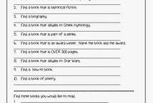Literacy week ideas