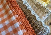 manteles bordes crochet