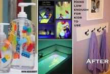 Ideas for Creating Easy-to-use and Cheerful Bathroom for Kids
