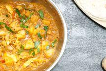 Currys végétaliens / Le curry en version végane