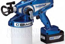 Graco TrueCoat Pro II / The TrueCoat Pro II Airless Paint Sprayer is the 2nd generation Graco hand-held airless paint sprayer. Now with pressure control. New Tilt-n-Spray suction tube. Now fully repairable. Cordless model Now with more powerful 20V batteries.