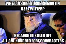 Game of Thrones Nerd Humor / by Ainsley Richards