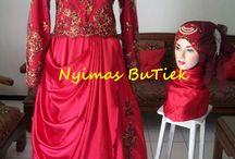 WEDDING GOWN MUSLIM 2014 / #kumpulangaungaunmuslimah #bajupengantin #dresspesta #kebayamodern