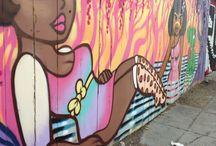 Street Art - San Fran to Sāo Paulo
