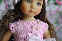 Beautiful Doll 2 /kötöttben / Gyönyörű babák kötött/ horgolt ruhákban