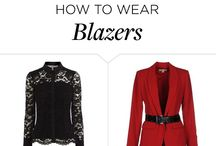 skirts, tops, and blazers.