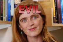 Evil / People who are evil without a shadow of a doubt.