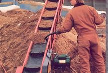 Aggregate Conveyors / Conveyors for Dirt , Gunk, and Raunch - not to mention construction debris