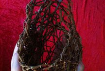weavery / Basketry by basketcases, myself included. Creations in progress, myself included...