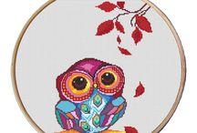 Owl xstitch