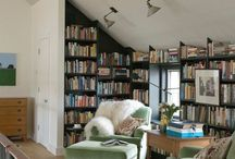 Writing Spaces / Whether reading or writing, my surroundings are important, and the environs for both often overlap. That's why you'll see a variety, here. Cozy, inspiring, and aesthetically pleasing - these are important, and let the mind go to work.